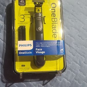 Philips one blade face Visage 3 stubble combs